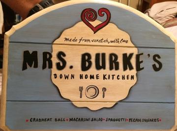 for Mrs. Burke
